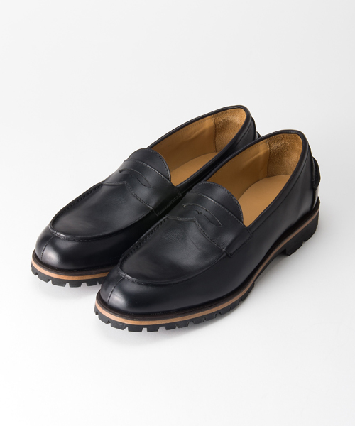 further中目黒 makers with name penny loafers